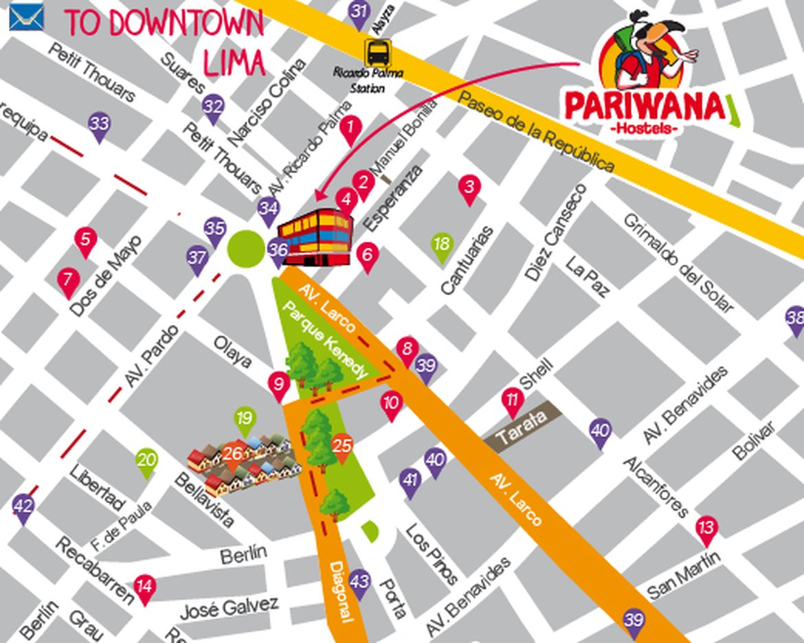 Pariwana Free Maps