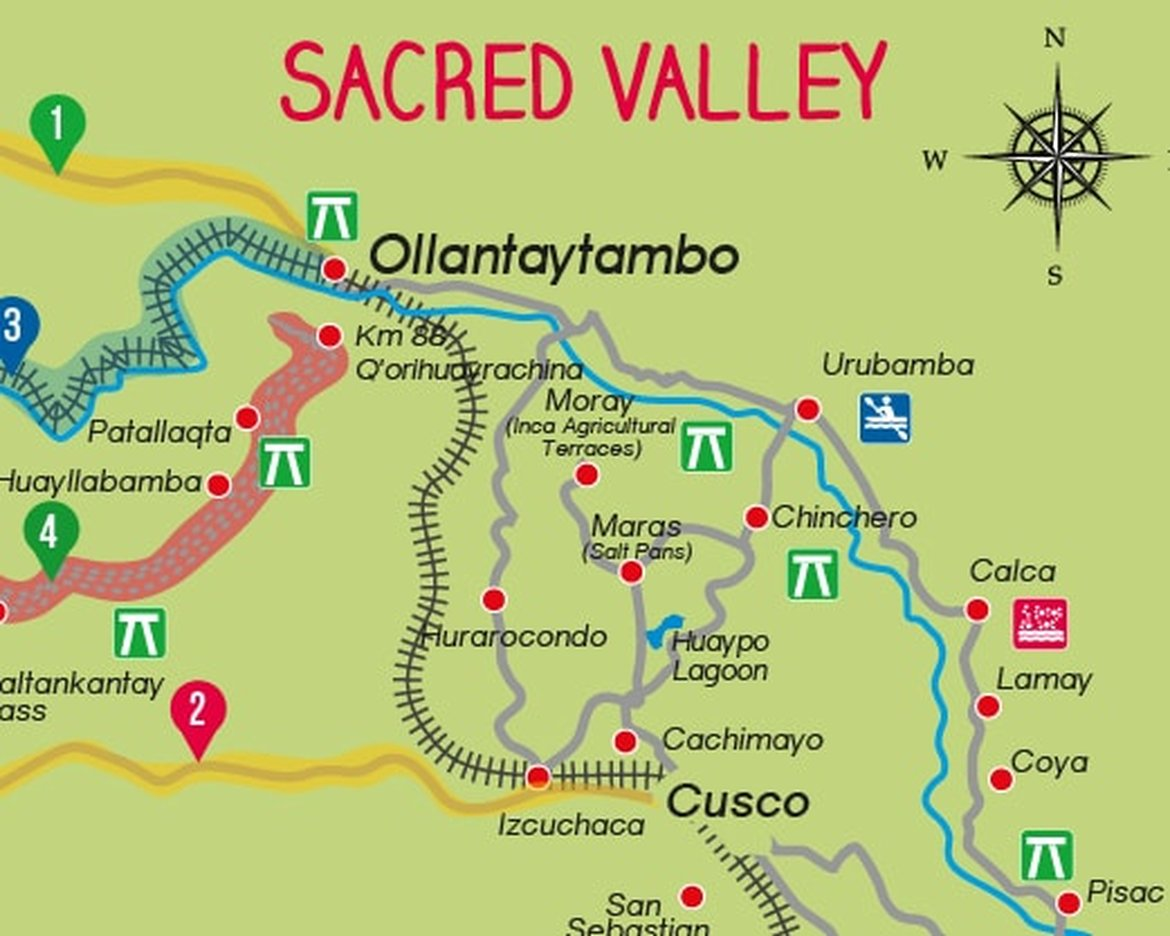Pariwana free maps routes to machu picchu publicscrutiny Image collections